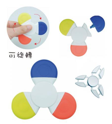 18-A01011200-18V-1121K 三色陀螺螢光筆