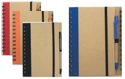18-A0109600-9005-33 多色筆記簿+筆