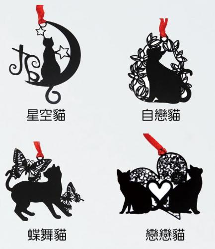 18-E0669600-貓之物語 金屬書籤