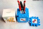 禮品公司 禮品 贈品 禮贈品-ACA02914800-101124 - 拼圖式相框筆筒(MOQ:1K)