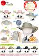 禮品 贈品 禮贈品 禮品公司-AJC07817600H38131 - 1/9口袋UV牛仔帽